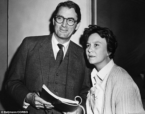 Gregory Peck, Harper Lee, To Kill a Mockingbird