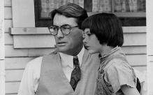 Atticus Finch, Scout Finch, To Kill a Mockingbird, Gregory Peck