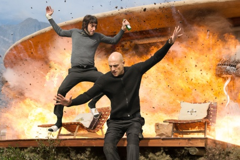Mark Strong, Sacha Baron Cohen, The Brothers Grimsby