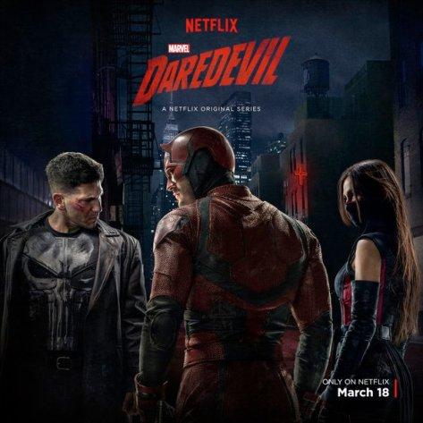Daredevil Season Two, Daredevil, The Punisher, Elektra, Elodie Yung, Jon Bernthal, Charlie Cox