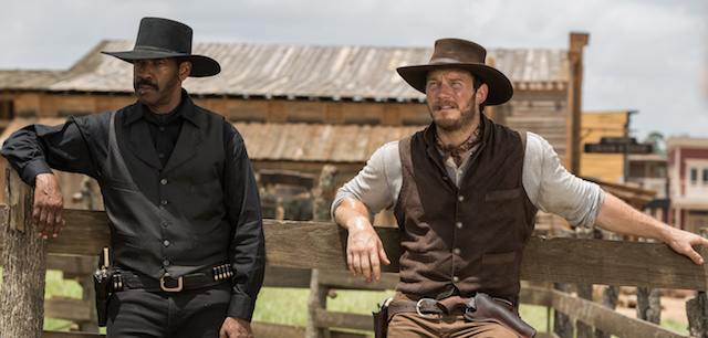 Chris Pratt, Denzel Washington, The Magnificent Seven