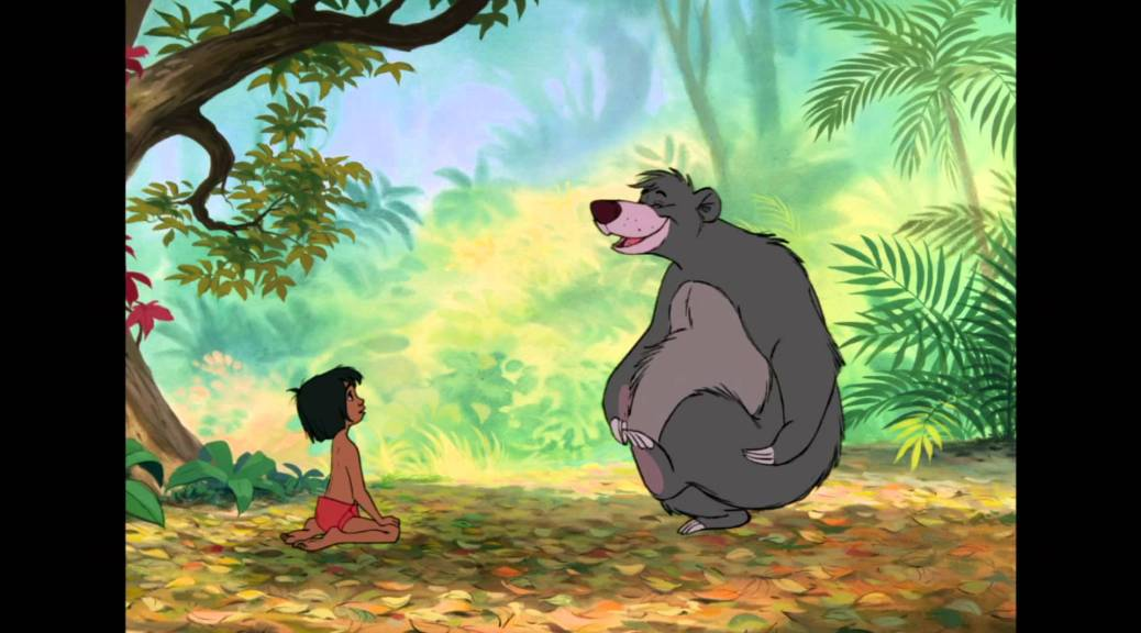 The Jungle Book, Baloo, Mowgli