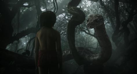 Neel Sethi, Scarlet Johansson, Disney's the Jungle Book