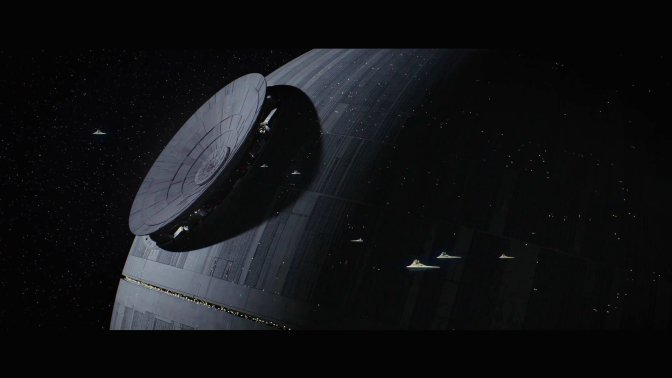 Rogue One: A Star Wars Story, Death Star