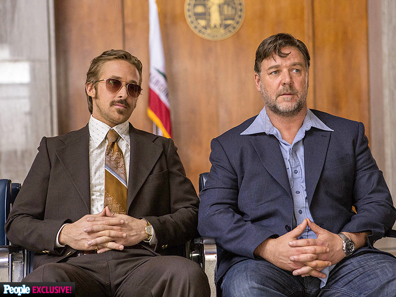Ryan Gosling, Russell Crowe, Shane Black, The Nice Guys