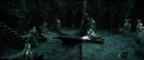 Gandalf, Galadriel, Cate Blanchett, The Hobbit: The Battle of the Five Armies, Nazgul