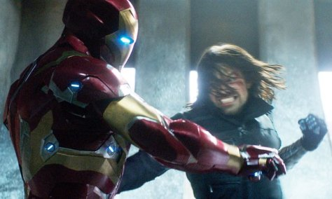 Winter Soldier, Iron Man, Robert Downey Jr., Sebastian Stan, Captain America: Civil War