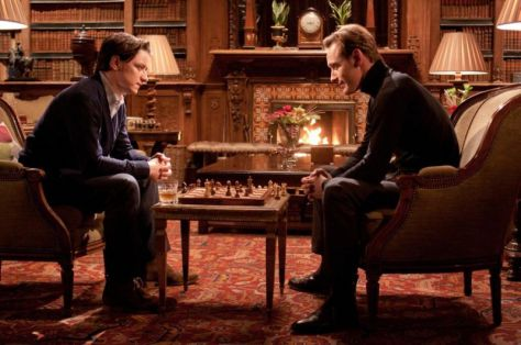 Professor Xavier, Magneto, X-Men: First Class, Michael Fassbender, James McAvoy