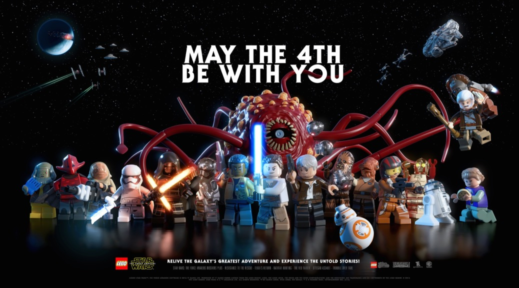 LEGO Star Wars, LEGO Star Wars: The Force Awakens, May the Fourth be With You