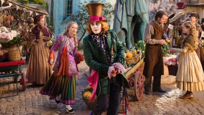 Alice Through the Looking Glass, Mia Wasikowska, Johnny Depp, Mad Hatter