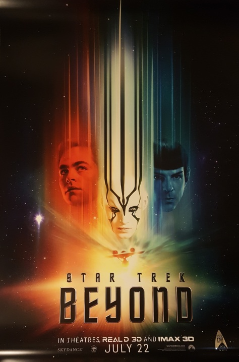 Star Trek: Beyond, Captain Kirk, Mr. Spock, Chris Pine