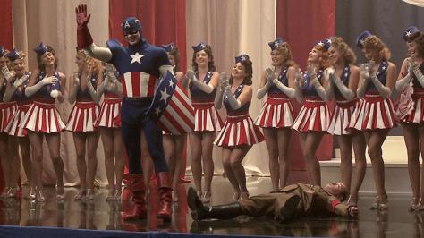 Chris Evans, Captain America, Steve Rogers, Sebastian Stan, Bucky Barnes, Captain America: The First Avenger