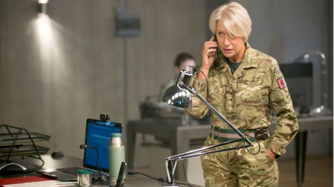 Movie Review: Eye in the Sky (2016) *Modern Warfare Via Conference Call*