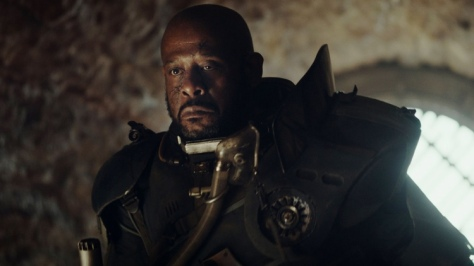 Rogue One: A Star Wars Story, Saw Gerrera, Forrest Whitaker