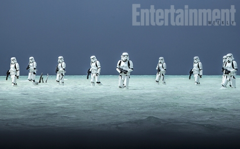 Rogue One: A Star Wars Story, Stormtroopers