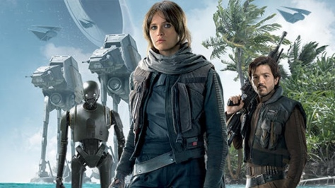 Rogue One: A Star Wars Story, Jyn Erso, Felicity Jones, Diego Luna, Death Star