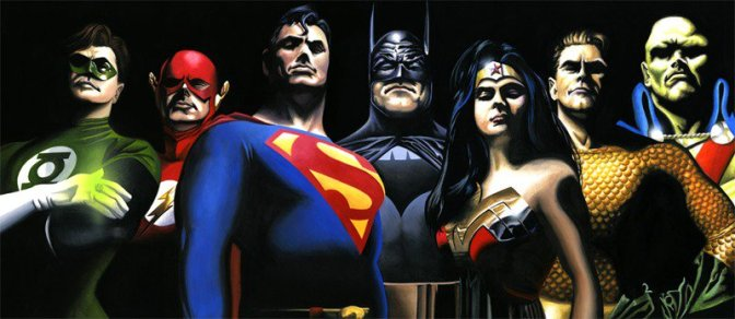 How Tall is Your Favorite DC Character?  Fantastic Comic Art!!!