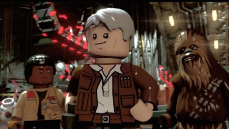 LEGO Star Wars: The Force Awakens, Chewbacca, Finn
