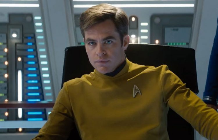 Chris Pine, Captain Kirk, Star Trek Beyond