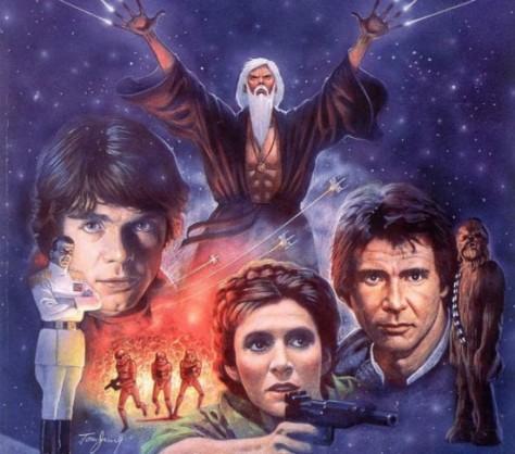 Star Wars, Heir to the Empire, Grand Admiral Thrawn, Princess Leia, Han Solo, Luke Skywalker, Chewbacca