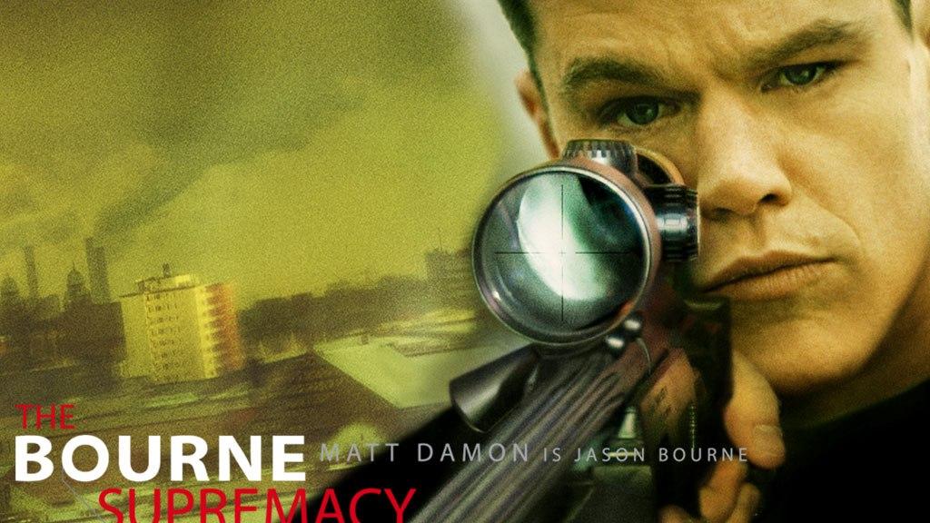The Bourne Supremacy, Jason Bourne, Matt Damon