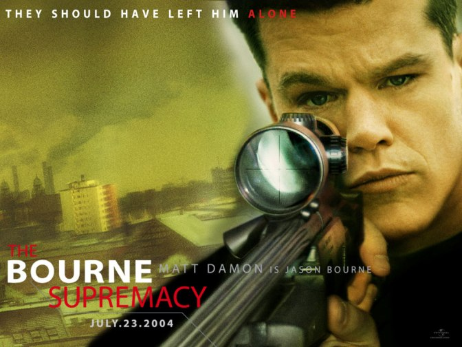 The Bourne Supremacy, Jason Bourne, Matt Damon