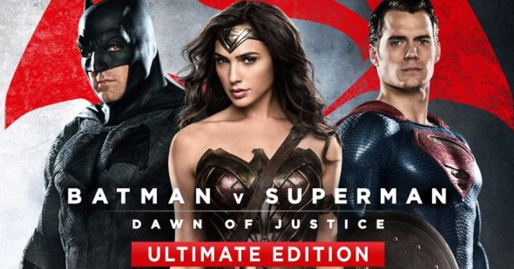 Batman, Superman, Wonder Woman, Batman vs. Superman: Dawn of Justice Ultimate Edition, Ben Affleck, Gal Gadot, Henry Cavill