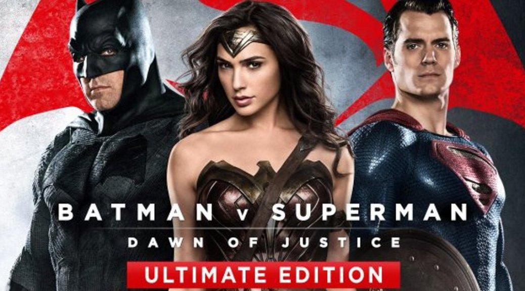 Batman, Superman, Wonder Woman, Batman vs. Superman: Dawn of Justice Ultimate Edition, Ben Affleck, Gal Gadot, Henry Cavill