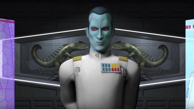 Grand Admiral Thrawn, Star Wars, Star Wars: Rebels