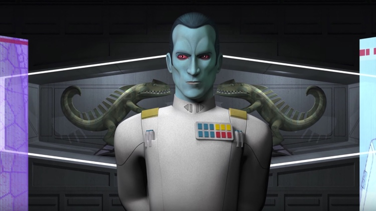Grand Admiral Thrawn, Star Wars, Star Wars: Rebels