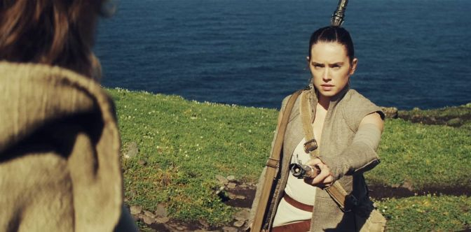 Star Wars, Star Wars Episode VII, Star Wars Episode VII: The Force Awakens, Daisy Ridley, Mark Hamill, Luke Skywalker, Rey