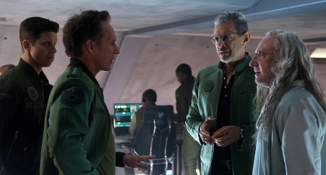 Jeff Goldblum, Brent Spiner, Independence Day: Resurgence