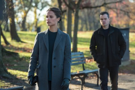 Matt Damon, Jason Bourne, Alicia Vikander