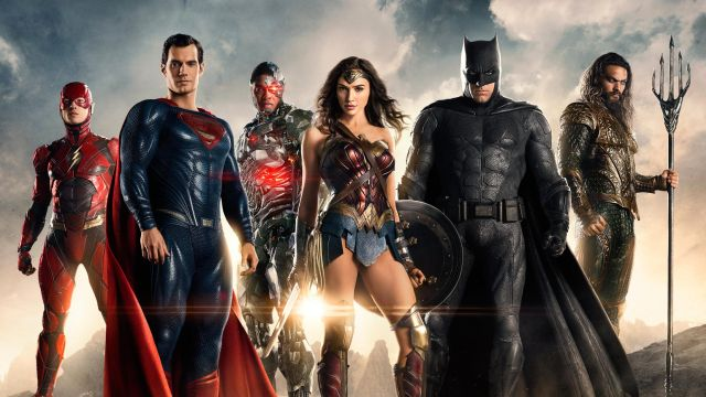 Justice League, Batman, Superman, Wonder Woman, Flash, Cyborg, Aquaman, Gal Gadot, Henry Cavill, Ben Affleck