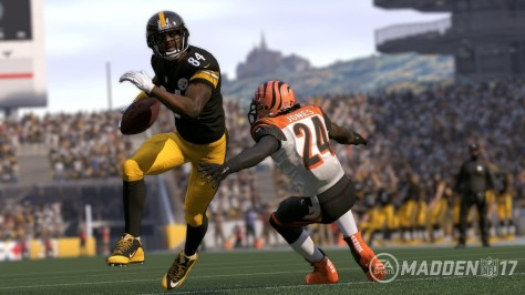 Madden NFL 17, Antonio Brown, Pittsburgh Steelers