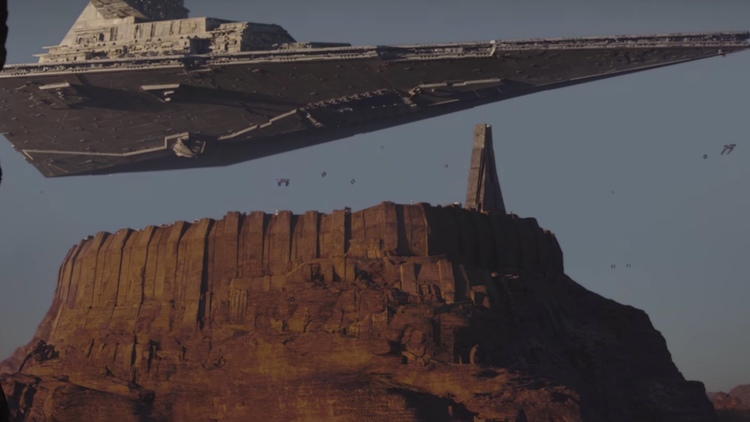 Rogue One: A Star Wars Story, Star Destroyer