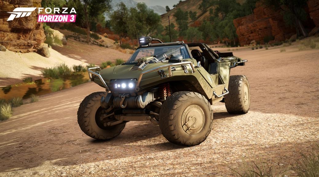 Forza Horizon 3, HALO, Warthog