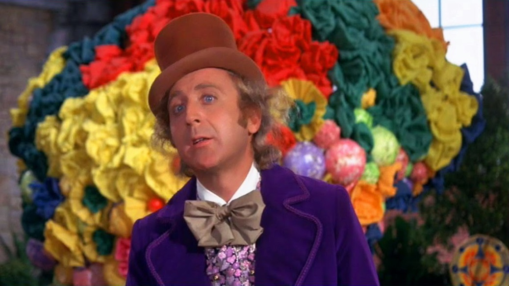 Gene Wilder, Willy Wonka, Willy Wonka and the Chocolate Factory