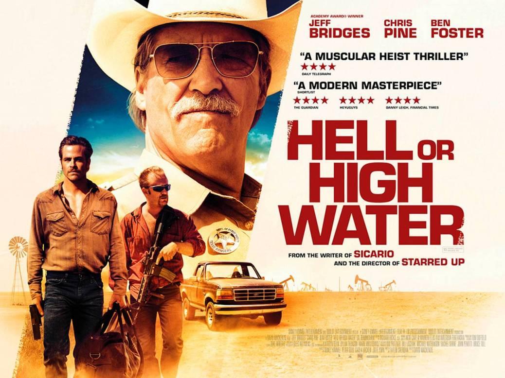 Hell or High Water, Jeff Bridges, Chris Pine, Ben Foster