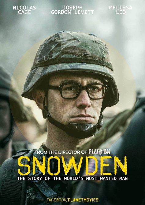 Joseph-Gordon Levitt, Edward Snowden, Snowden