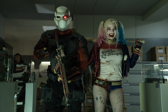 Margot Robbie, Will Smith, Deadshot, Harley Quinn, Suicide Squad