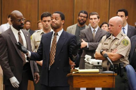 The People vs. OJ Simpson, OJ Simpson, Sterling K. Brown, Cuba Gooding Jr.