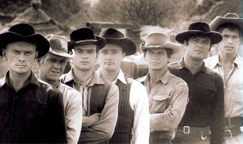 The Magnificent Seven, Charles Bronson, Yul Bruyner, Steve McQueen