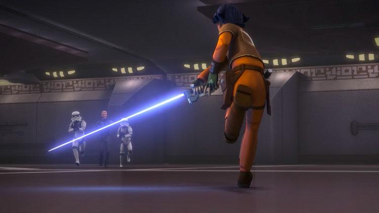 Star Wars Rebels, Ezra Bridger, Stormtroopers