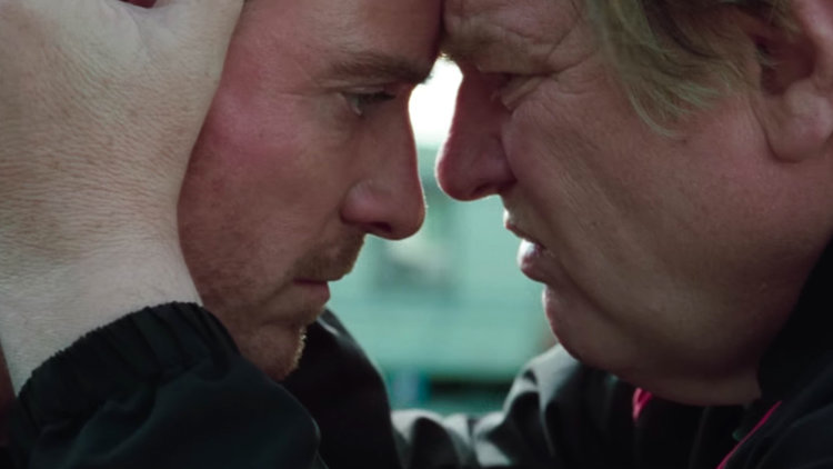 Trespass Against Us, Brendan Gleeson, Michael Fassbender