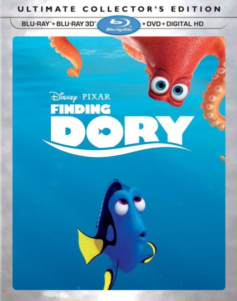 Finding Dory, Ed O'Neil, Ellen DeGeneres, Dory