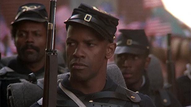 Denzel Washington, Tripp, Glory