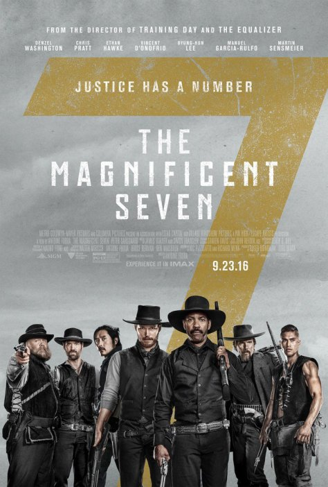 The Magnificent Seven, Denzel Washington, Byung-hun Lee, Ethan Hawke, Chris Pratt, Vincent D'Onofrio