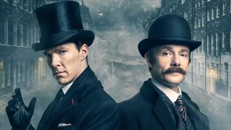 Sherlock Holmes, Dr. Watson, Sherlock: The Abominable Bride, Benedict Cumberbatch, Martin Freeman