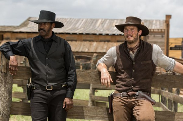 Denzel Washington, Chris Pratt, The Magnificent Seven